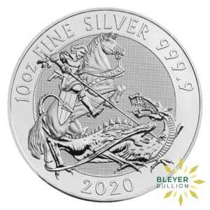 Bleyers Coins 10oz Silver UK Valiant 2020 1