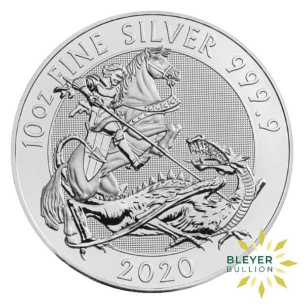 Bleyers Coins 10oz Silver UK Valiant 2020 1
