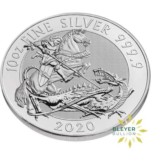 Bleyers Coins 10oz Silver UK Valiant 2020 3