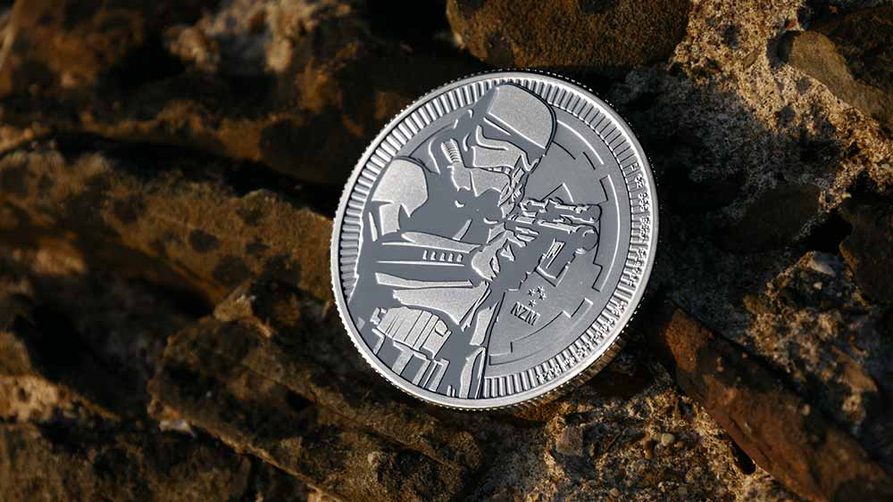 1oz Silver NIUE Stormtrooper Investment Coin 2018