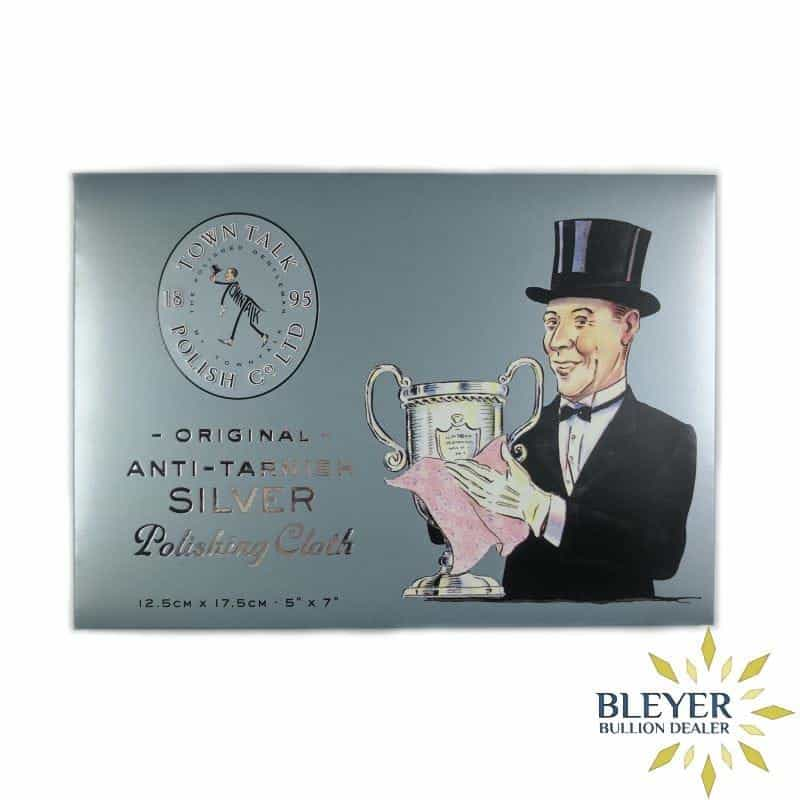 Silver Cleaning Cloth available from Bleyer