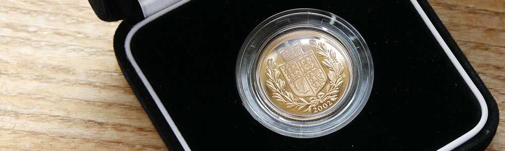 2002 Proof Coin with original certificate