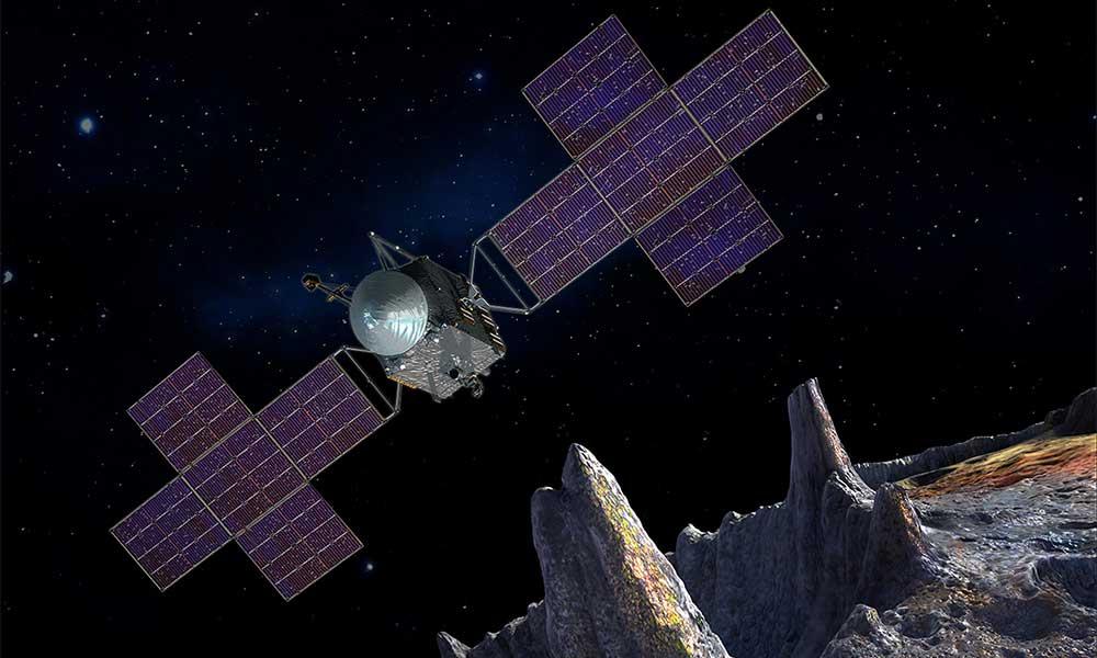 Landing on Psyche 16 Asteroid