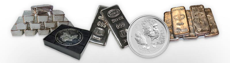 Assorted Silver Bullion Special Offers from Bleyer for Father's Day