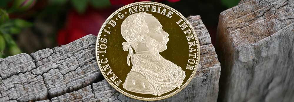 1 Ducats, New Edition, 23 ¾ Carat Commemorative Gold Investment Coin
