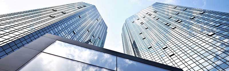 The external building of Germany's Deutsche Bank