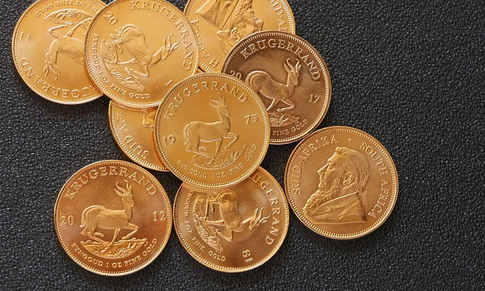 Mixed Year Gold Krugerrand Coins