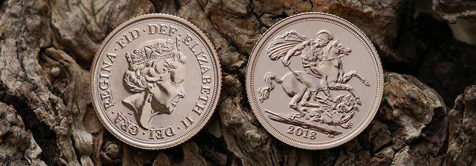 Sovereigns are produced by The Royal Mint and struck in 22 Carat Gold, each coin contains 7.322 grams of fine gold
