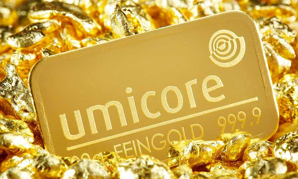Umicore Gold Bar