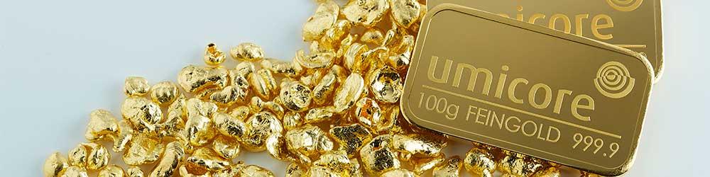 Umicore Gold Investment Bullion