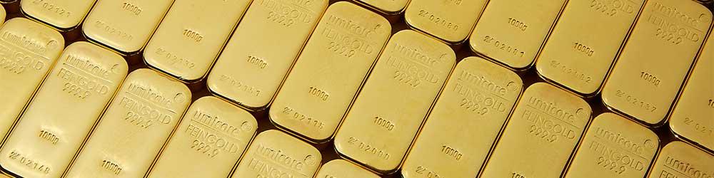 Umicore Gold Bullion Investment Bars
