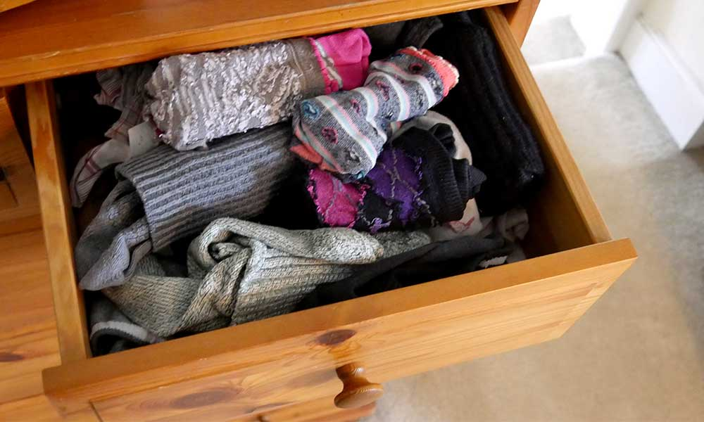 Keep your bullion secret and store it in a sock drawer