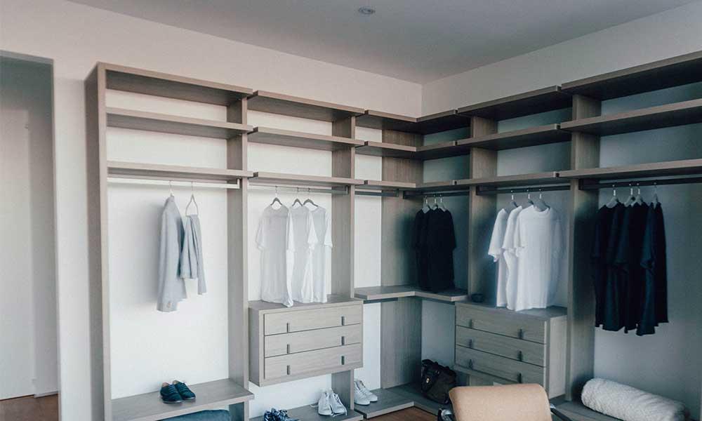 Keep your bullion secret and store it in a walk-in wardrobe