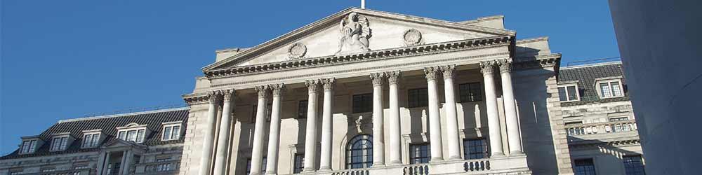 External Bank of England building