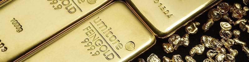 500g Umicore Gold Bullion Bar