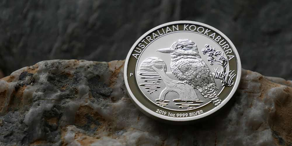 1oz Silver 2019 Kookaburra Bullion Investment Coin