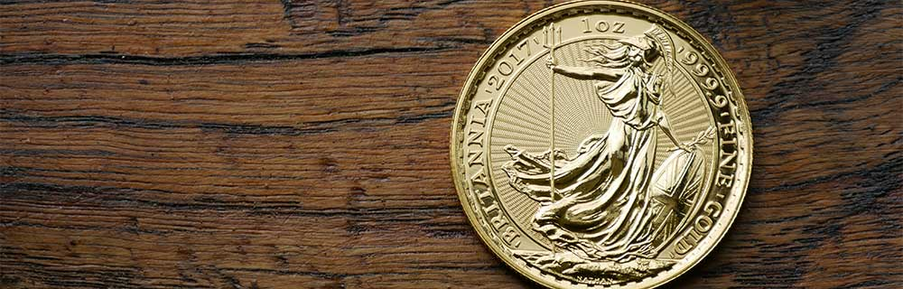 Investment Bullion Coin available at Bleyer - 1oz Gold Britannia