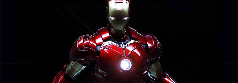 Photo of Iron Man in his full suit