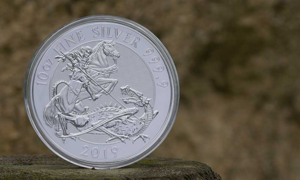 Photo of 10oz Silver UK Valiant 2019 Coin now available from Bleyer