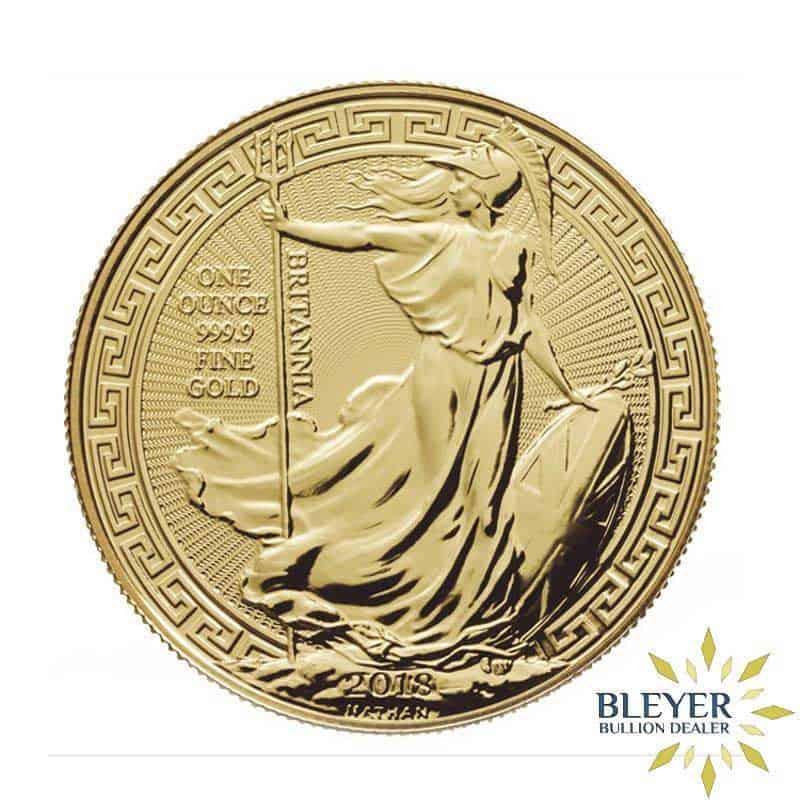 1oz Gold UK Oriental Border Britannia Coin, 2018