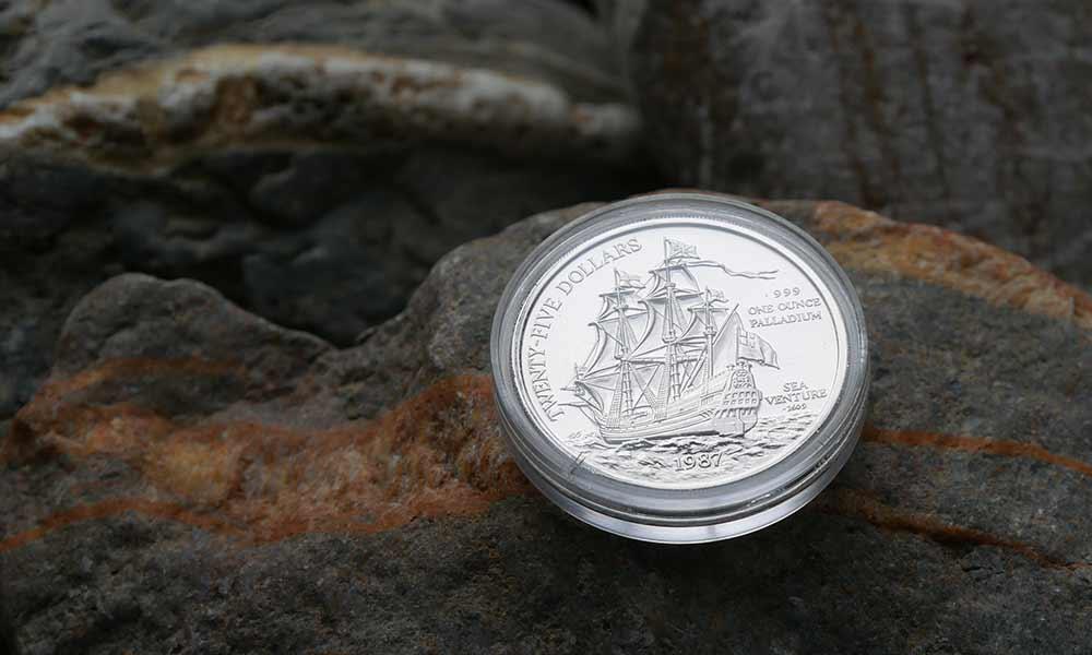 1oz Palladium Coin
