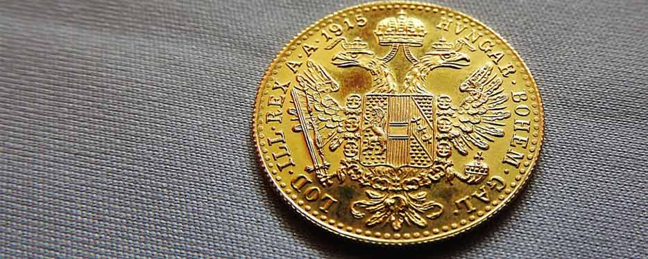 1 Ducat Austrian Gold Coin now available from Bleyer