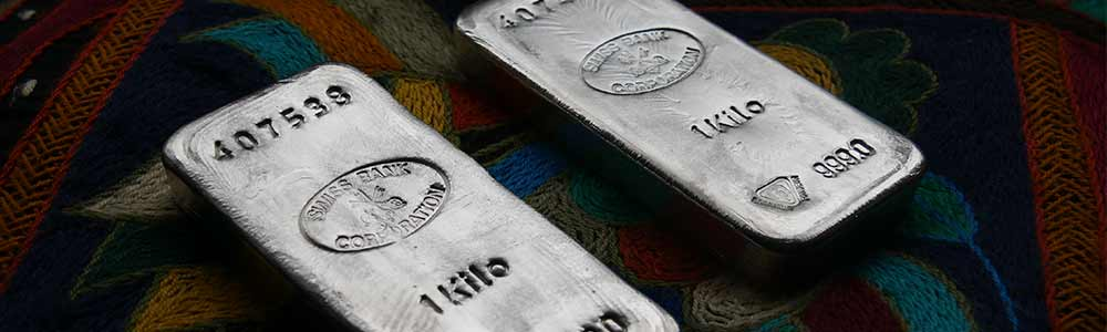 Swiss Bank Coorporation Silver Bars