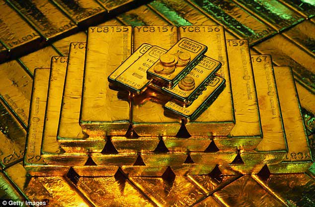 £1billion of gold bullion on board the sunken ship