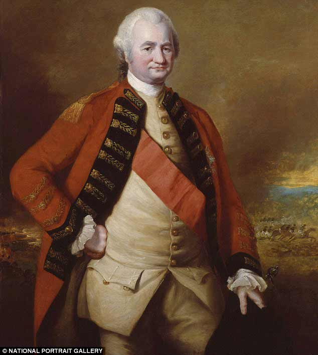 Major General Robert Clive of India, who died in 1811