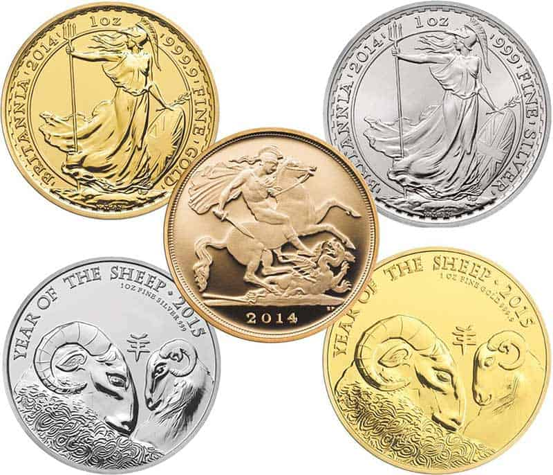 The Royal Mint Assorted Coins sold at Bleyer