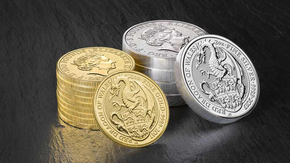 The Royal Mint's Queen's Beast Dragon Coins are now available to purchase from Bleyer
