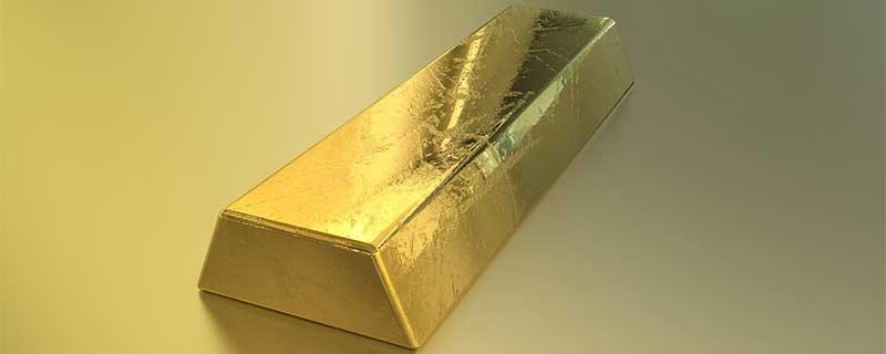 Single Gold Bullion Investment Bar