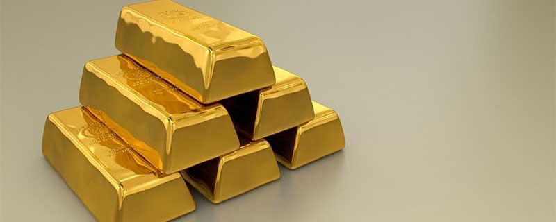 Gold Bullion Investment Bars Stacked up