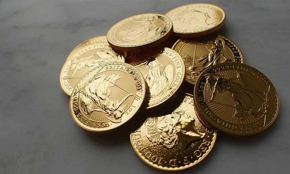Collection of 1oz Gold Britannia Coins