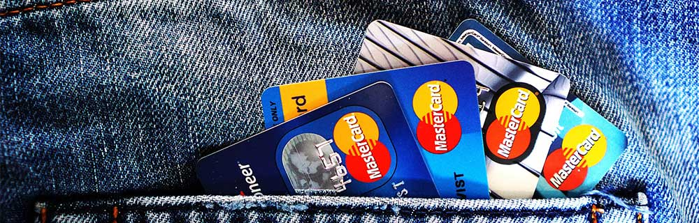 Ensure all your credit card debts are paid.