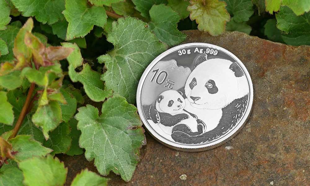 1oz Silver Chinese Panda Coin, 2019