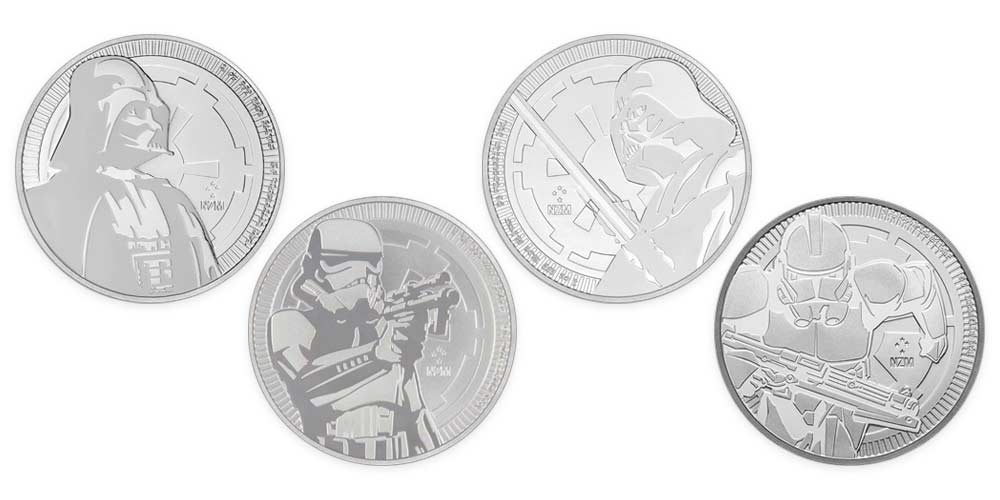 1oz Silver NIUE Star Wars Coin Designs