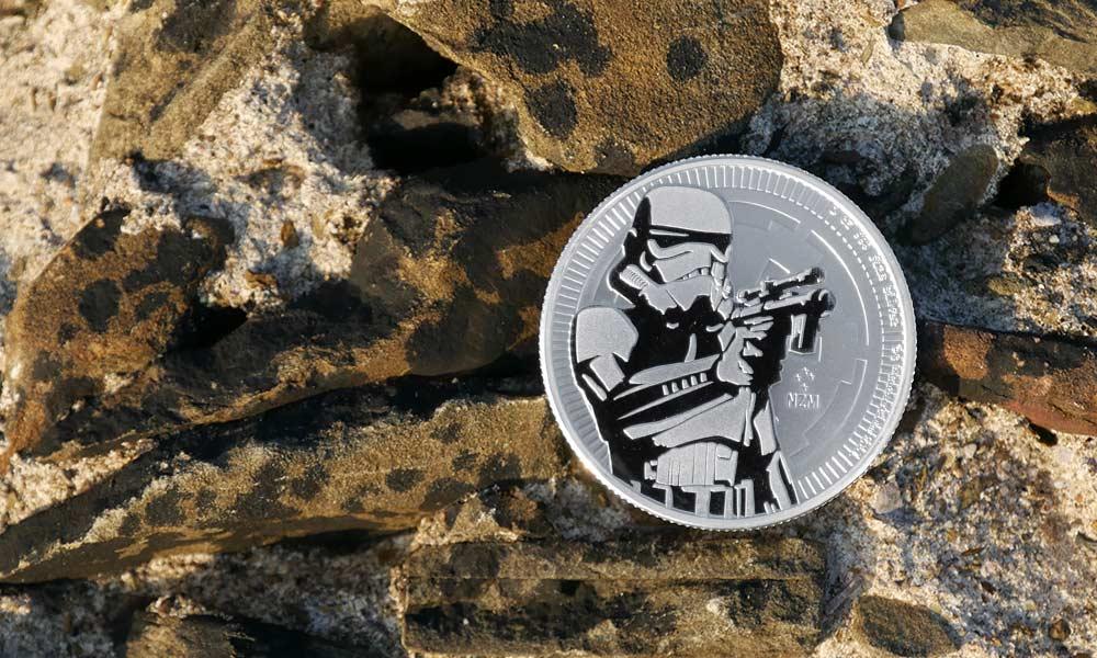 1oz Silver NIUE Stormtrooper 2018 Coin