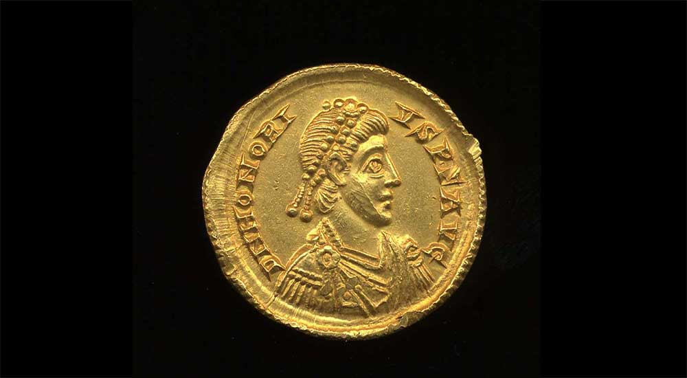 Hoxne Hoard coin hoard discovered in the UK