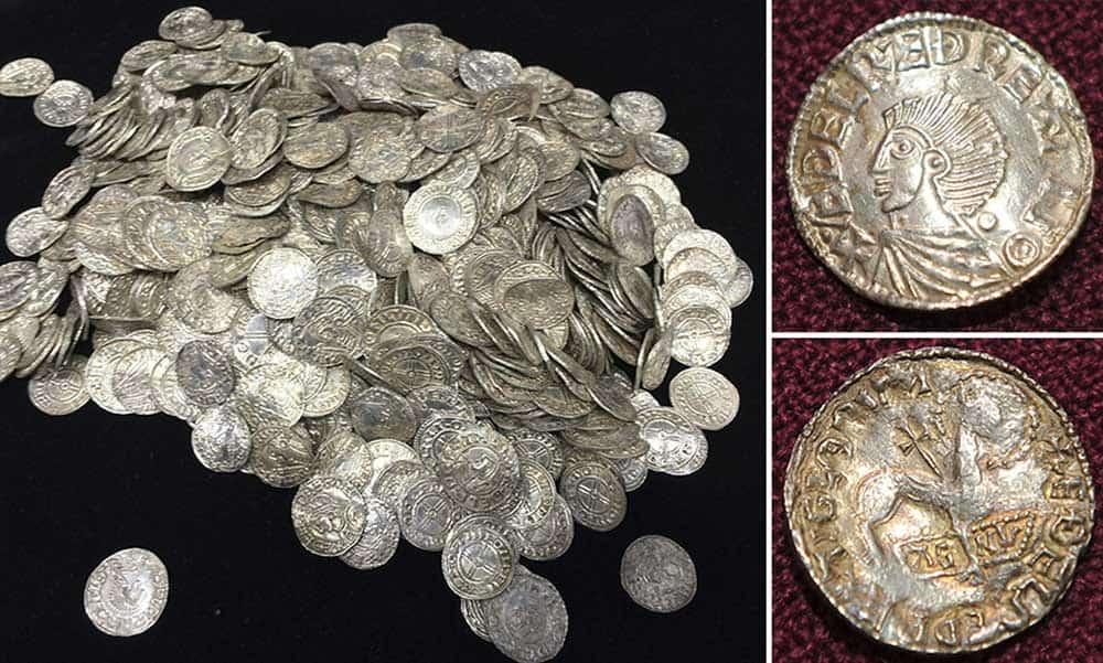 Lenborough Hoard coin hoard discovered in the UK