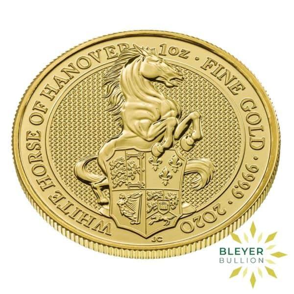 Bleyers Coin 1oz Gold Horse 3