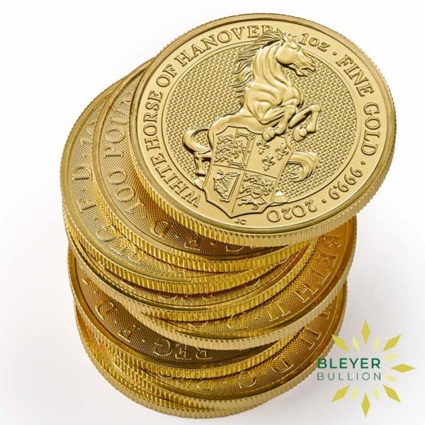 Bleyers Coin 1oz Gold Horse 4