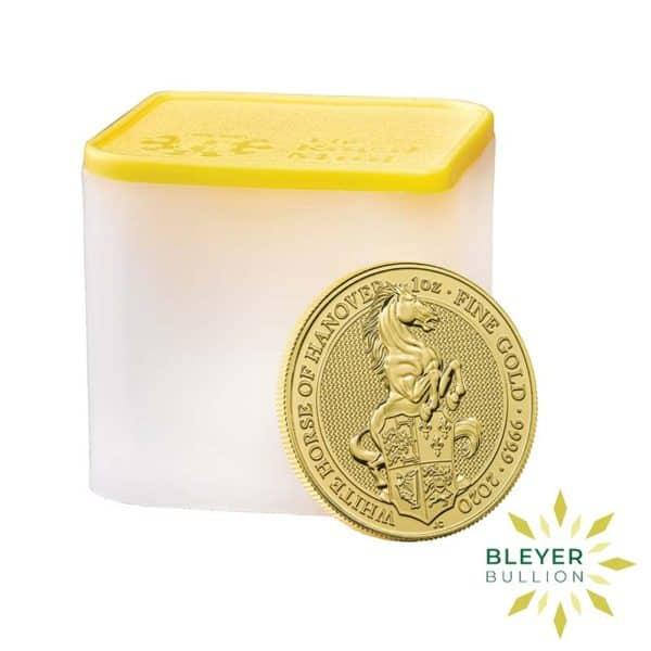 Bleyers Coin 1oz Gold Horse 5