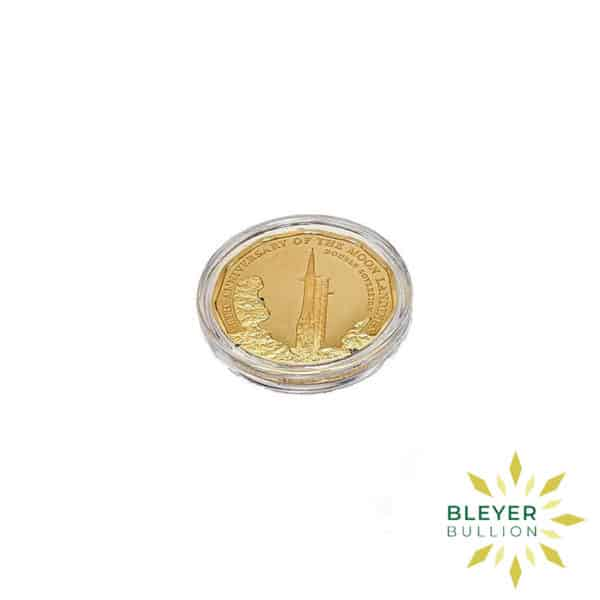 Bleyers Coin UK Gold The 2019 Moon Landing 50th Anniversary Double Proof Sovereign Coin