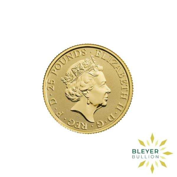 Bleyers Coins 1 4oz Gold UK Queens Beasts Horse 2020 2