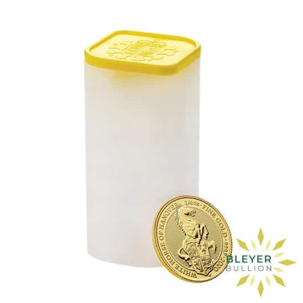 Bleyers Coins 1 4oz Gold UK Queens Beasts Horse 2020 3