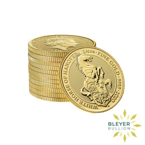 Bleyers Coins 1 4oz Gold UK Queens Beasts Horse 2020 4