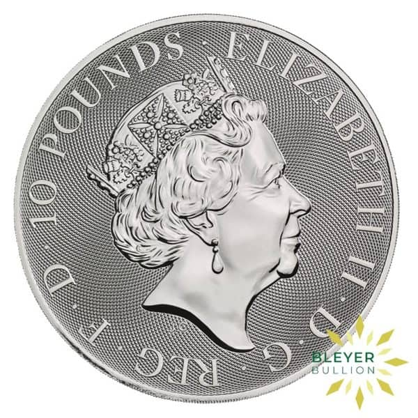 Bleyers Coins 10oz Silver UK Queens Beasts The Yale of Beaufort 2020 4