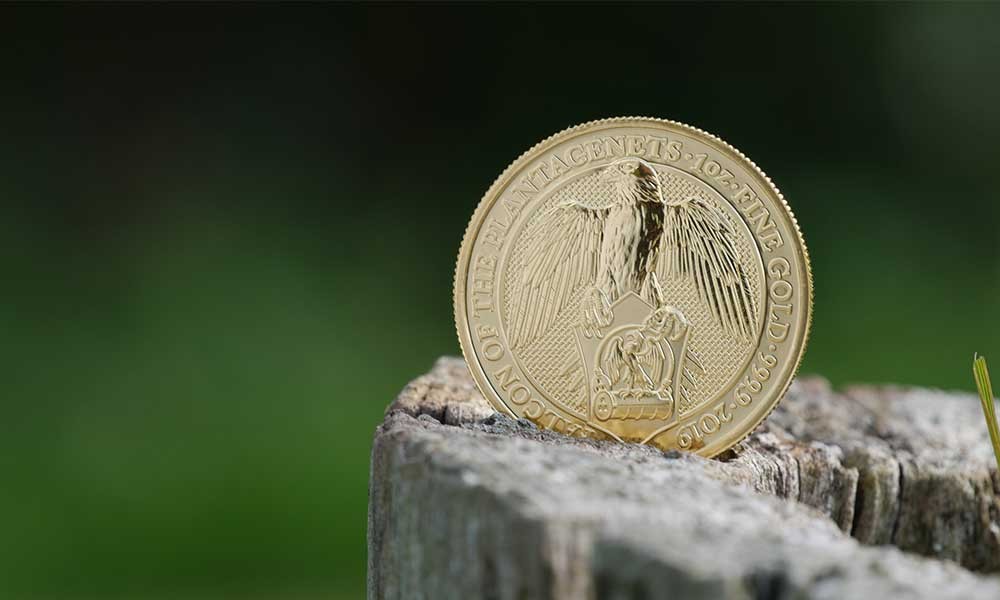 IMF Great Depression Gold Falcon Coin