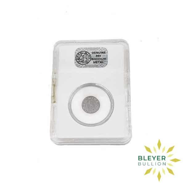 Bleyers Coin Best Value 1g American Rhodium Coin 2009 1